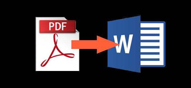 ¿Cómo puedes convertir un documento PDF a Word?