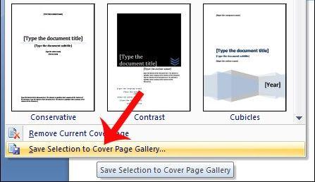 portada personalizada Microsoft Word