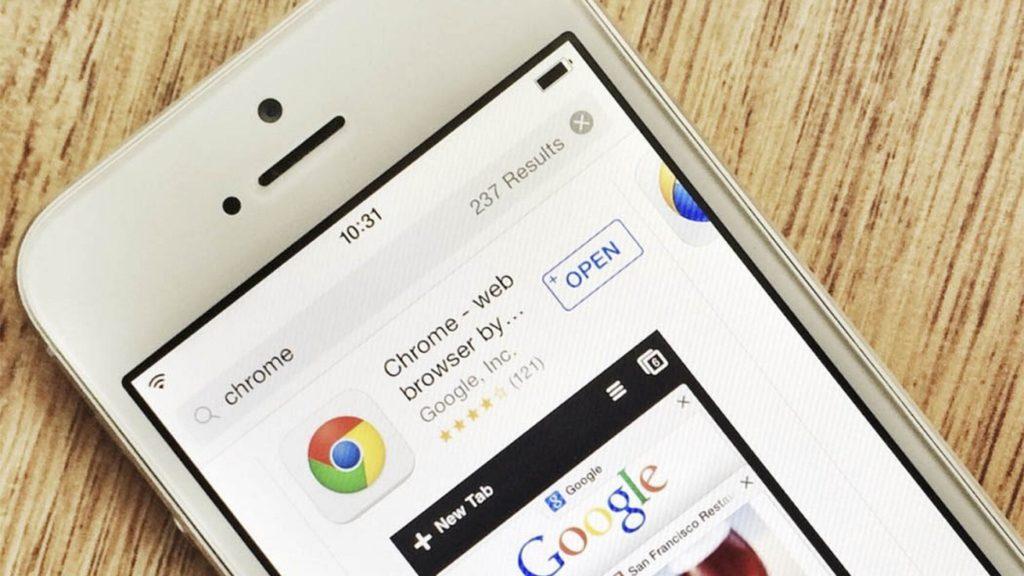 Abrir enlaces automáticamente Chrome iPhone iPad 4