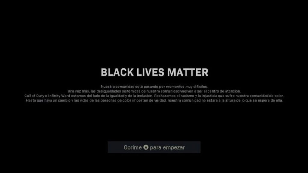 Black Lives Matter Call of Duty 2