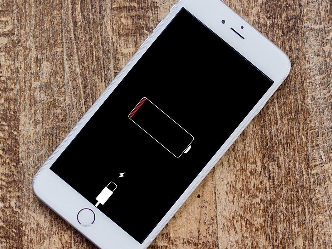 Descarga batería iPhone 1