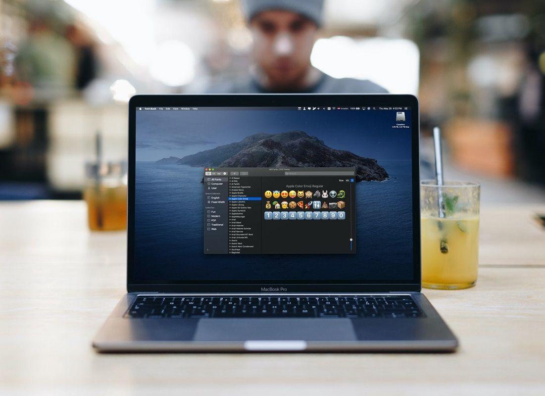 Descargar nuevas fuentes macOS Catalina 1