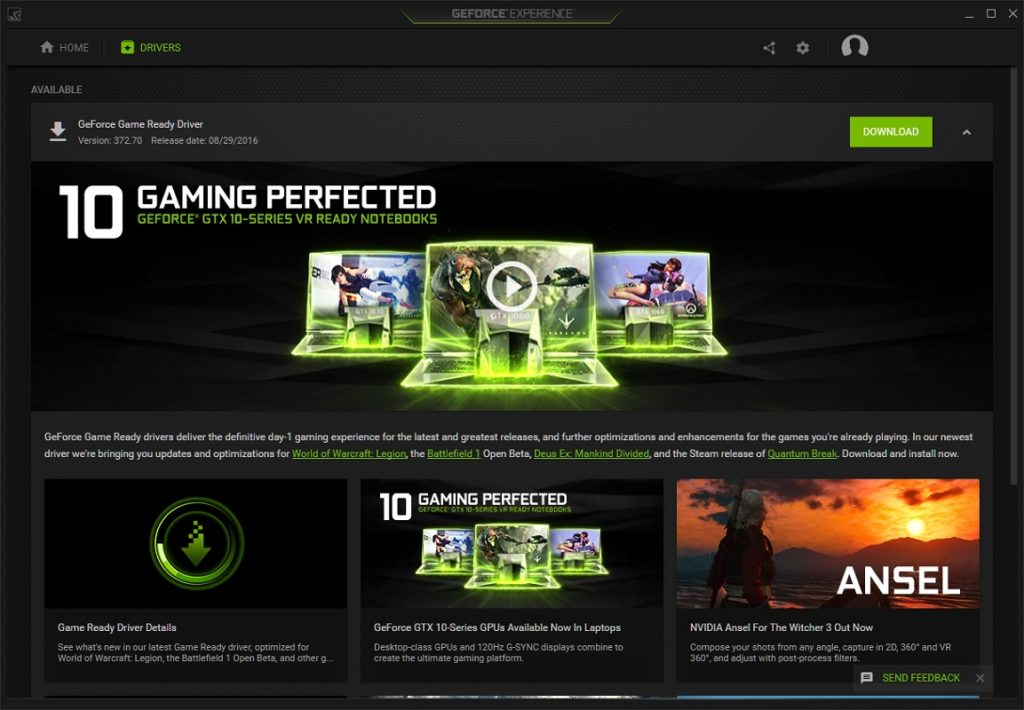 GeForce Experience 2
