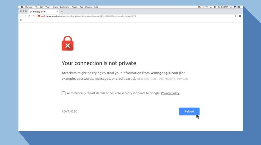 Solucionar problemas conexión VPN 3