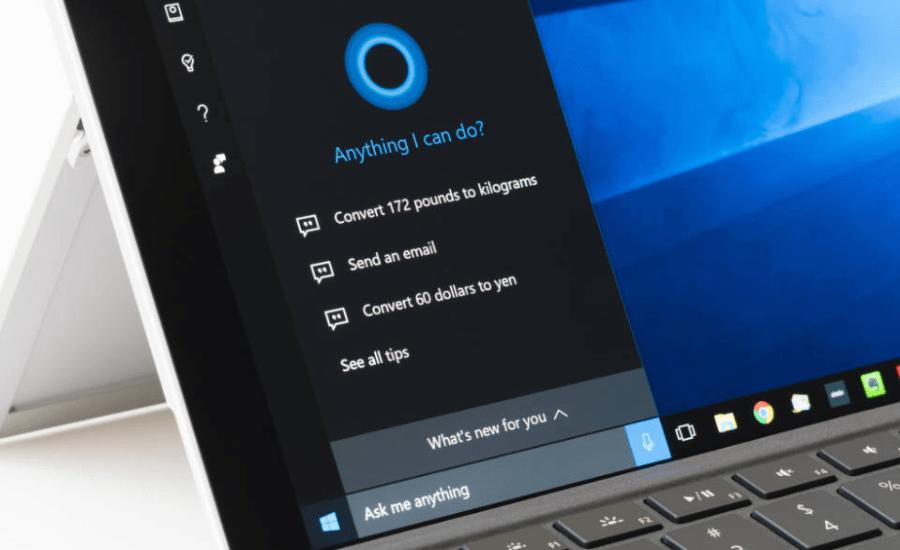 desactivar Cortana Windows