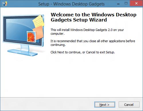 gadgets escritorio Windows 10