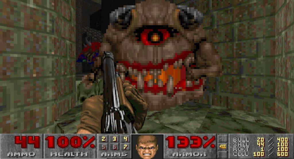 Así puedes jugar al Doom clásico en pantalla panorámica