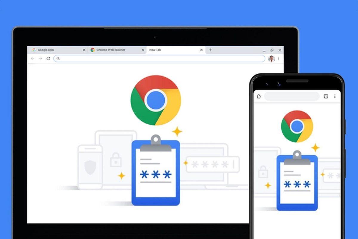 Contraseña guardada Chrome 1