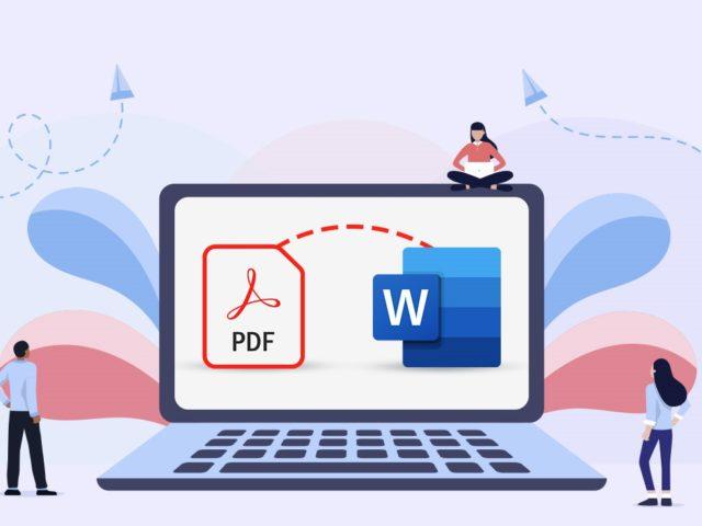 ¿Cómo insertar un PDF en un documento de Word?