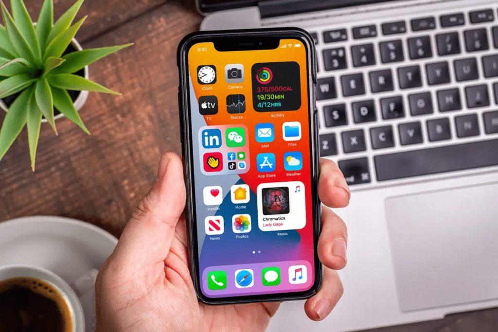 Oranizar apps iPhone 3