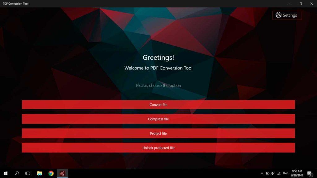 PDF Conversion Tool 2