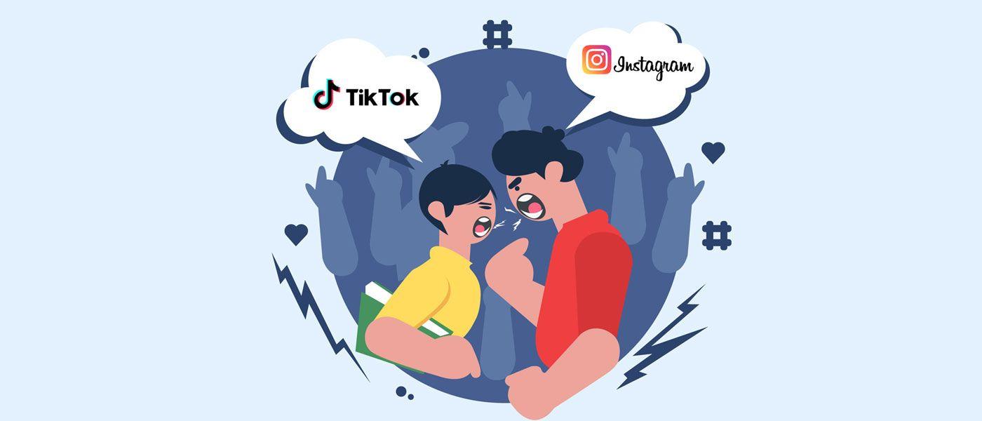 TikTok vs Instagram 1