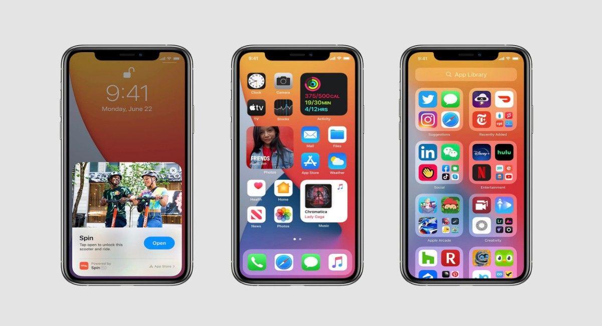 iOS 14 prueba campo