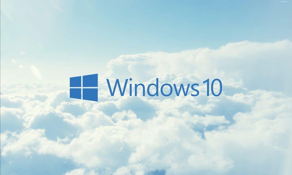 nube Windows 10