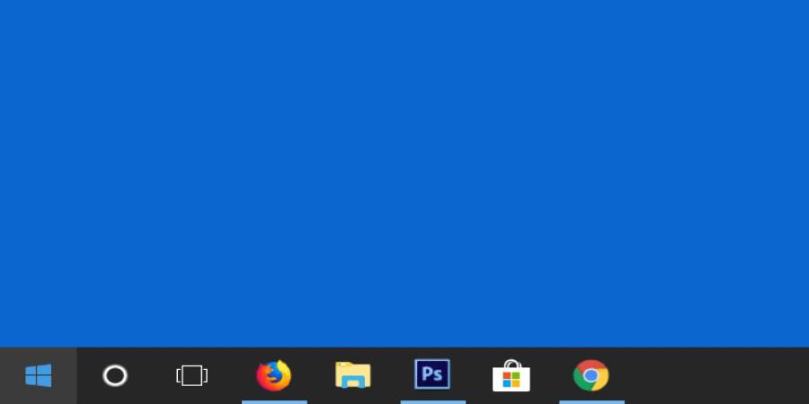 ¿Cómo ocultar la barra de tareas en Windows 10?