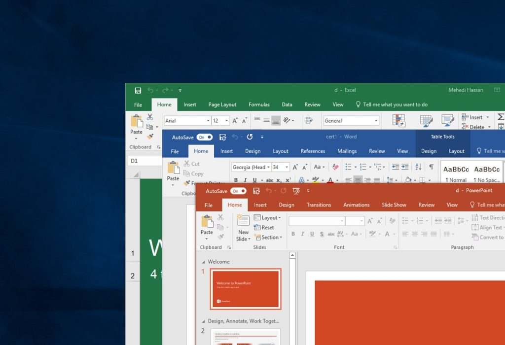 ¿Cómo actualizar las apps de Office en Windows 10 y Mac?