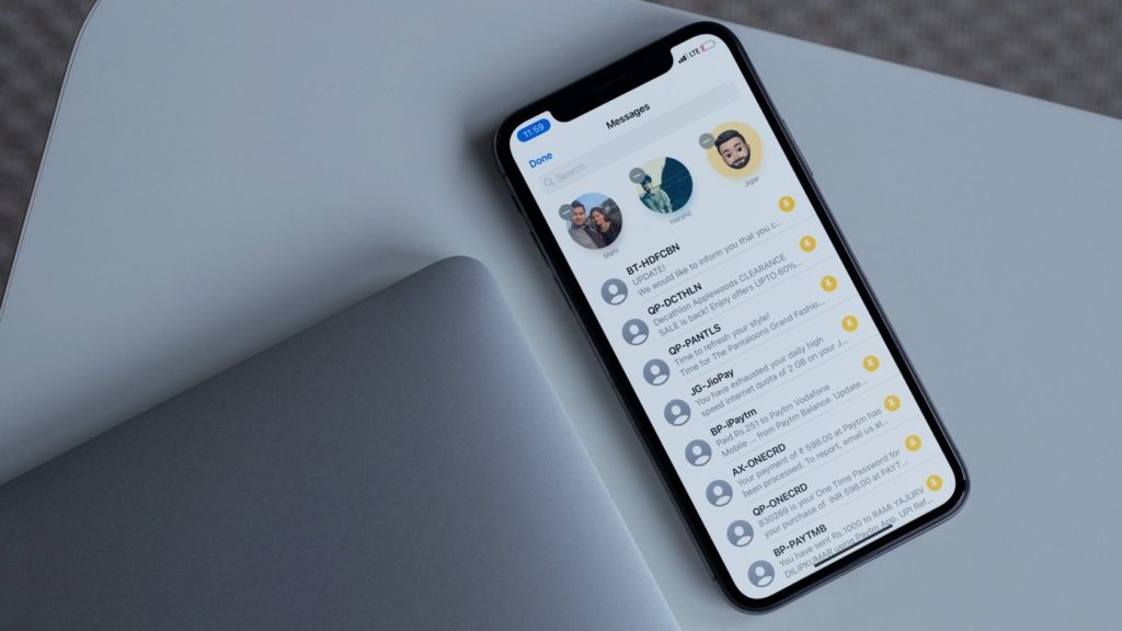 ¿Cómo anclar chats en Message en iPhone y iPad?