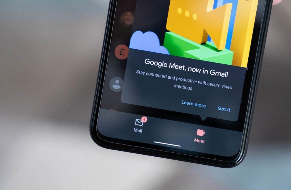 ¿Cómo deshabilitar Google Meet en Gmail en iOS o Android?