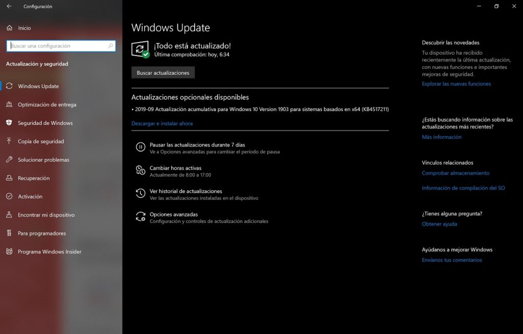Servicio actualización Windows Services 3