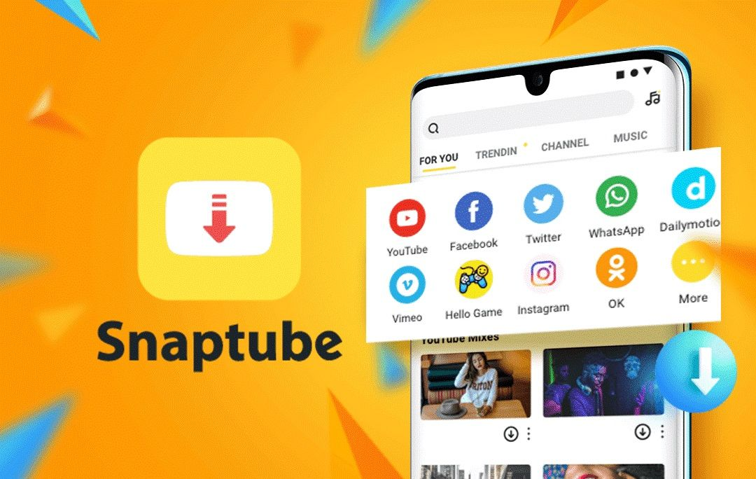 SnapTube Android 1