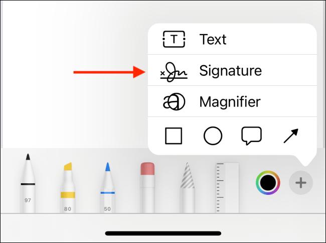 firmar archivo PDF en dispositivos iOS