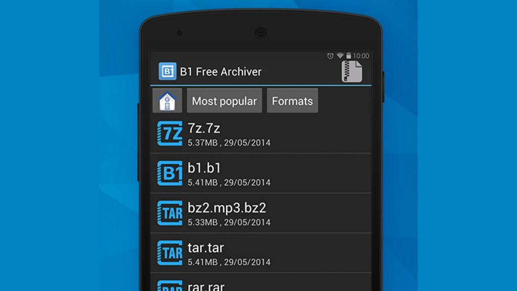 Abrir ZIP Android 2