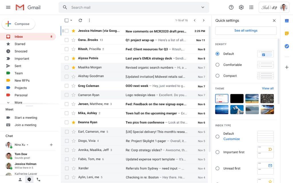 Escribir rápido Gmail 2,25