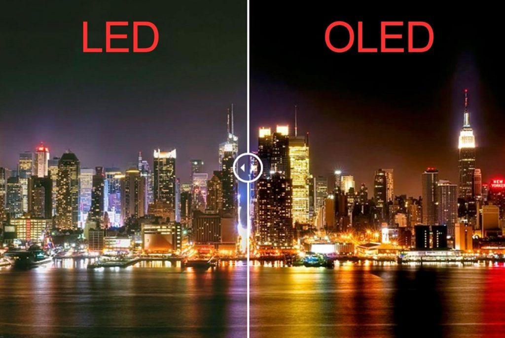 LCD LED OLED QLED 2