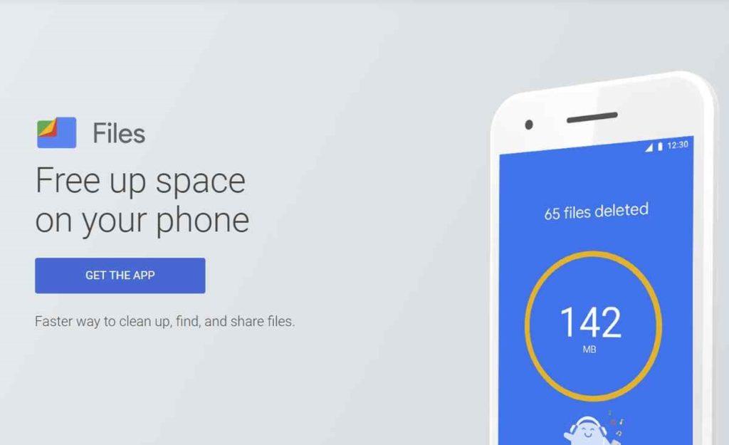 Liberar espacio Android Files 1,5