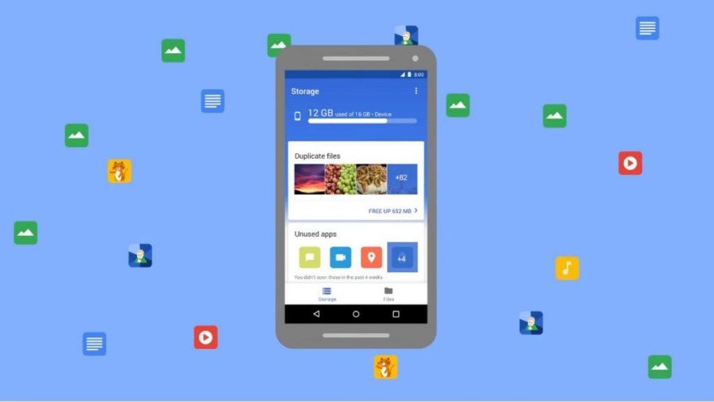 Liberar espacio Android Files 2