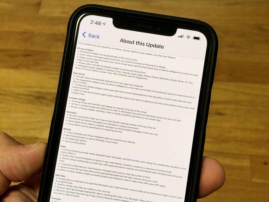 Problemas WiFi iOS 14 3