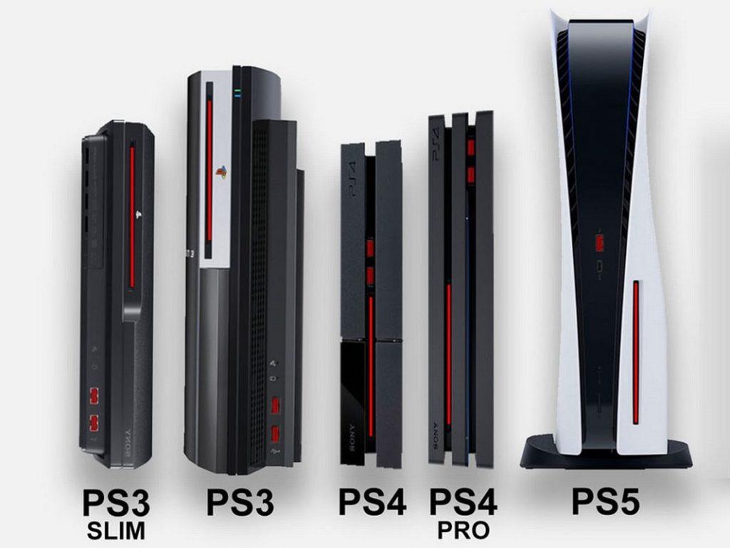 Tamaño PS5 4