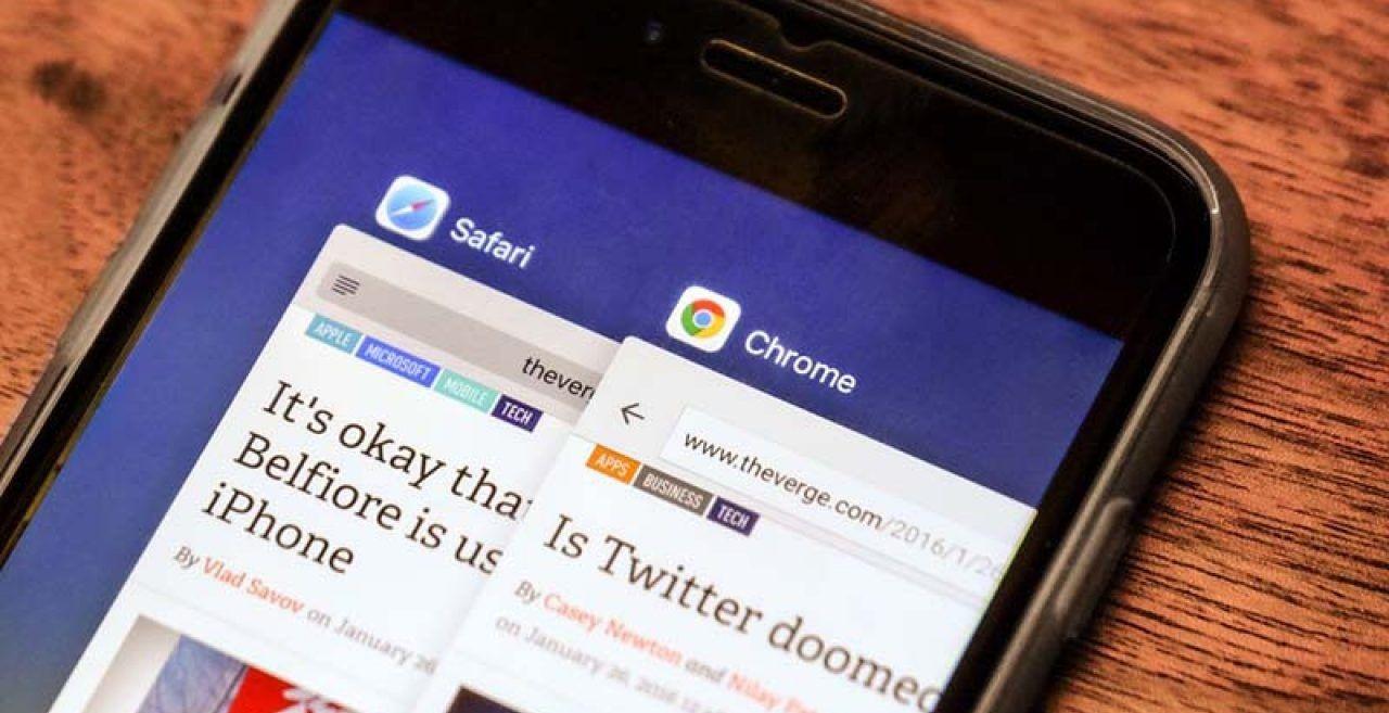 cambiar navegador predeterminad iphone