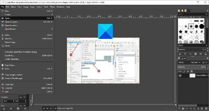 como cambiar tamano de imagen con GIMP