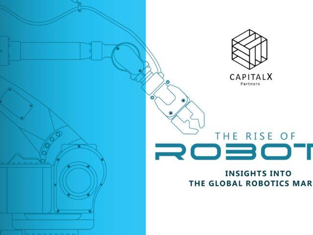 Todo lo que necesitas saber sobre el auge del mercado global de robótica