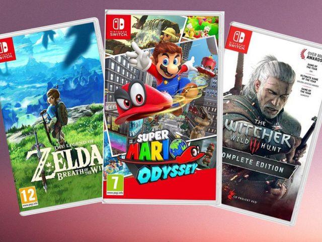 Los 10 mejores juegos para Nintendo Switch