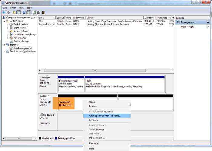 Cómo reparar un disco duro no asignado sin perder datos
