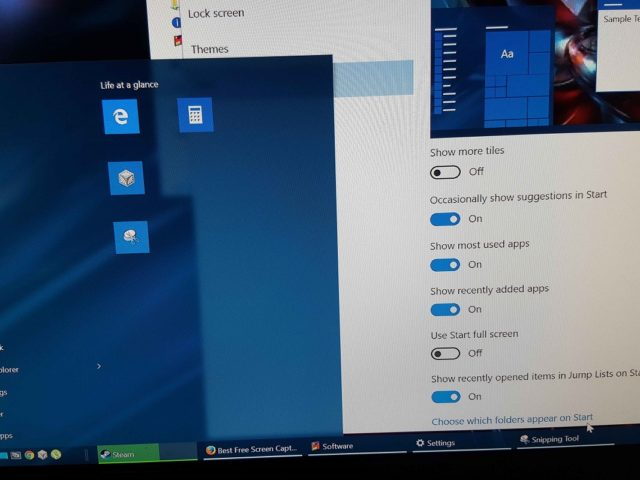 Eliminar las apps agregadas recientemente del menú de Windows