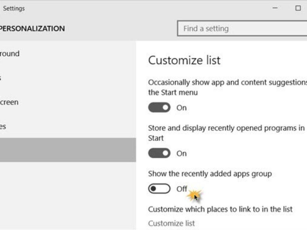 Apps agregadas Windows 2
