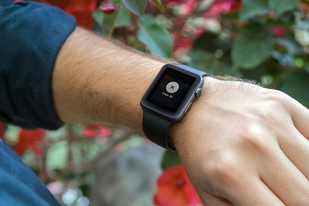 Borrar notificaciones Apple Watch 2