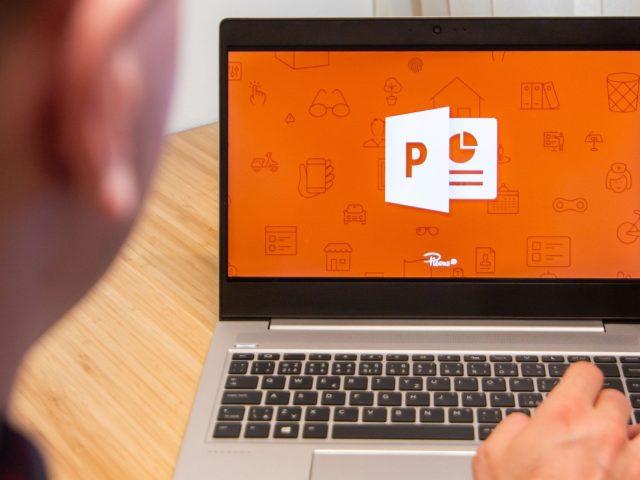 ¿Cómo desenfocar el fondo de una imagen en PowerPoint?