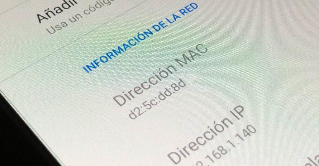 Dirección MAC aleatoria WiFi 2