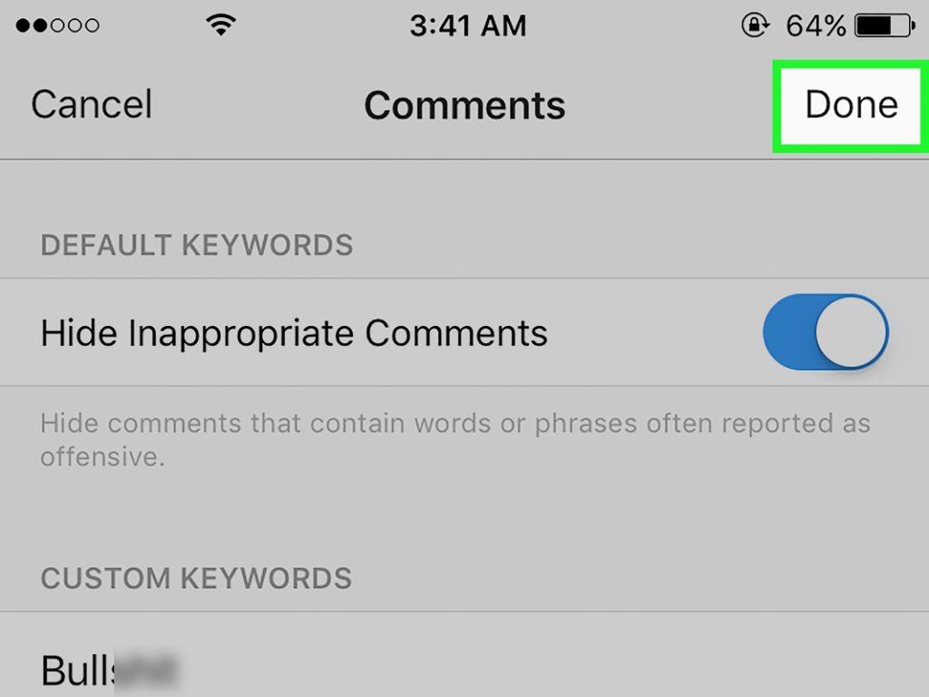 Filtrar comentarios Instagram 2