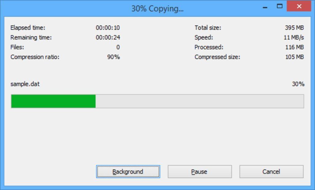 Fusionar ZIP Windows 10 3
