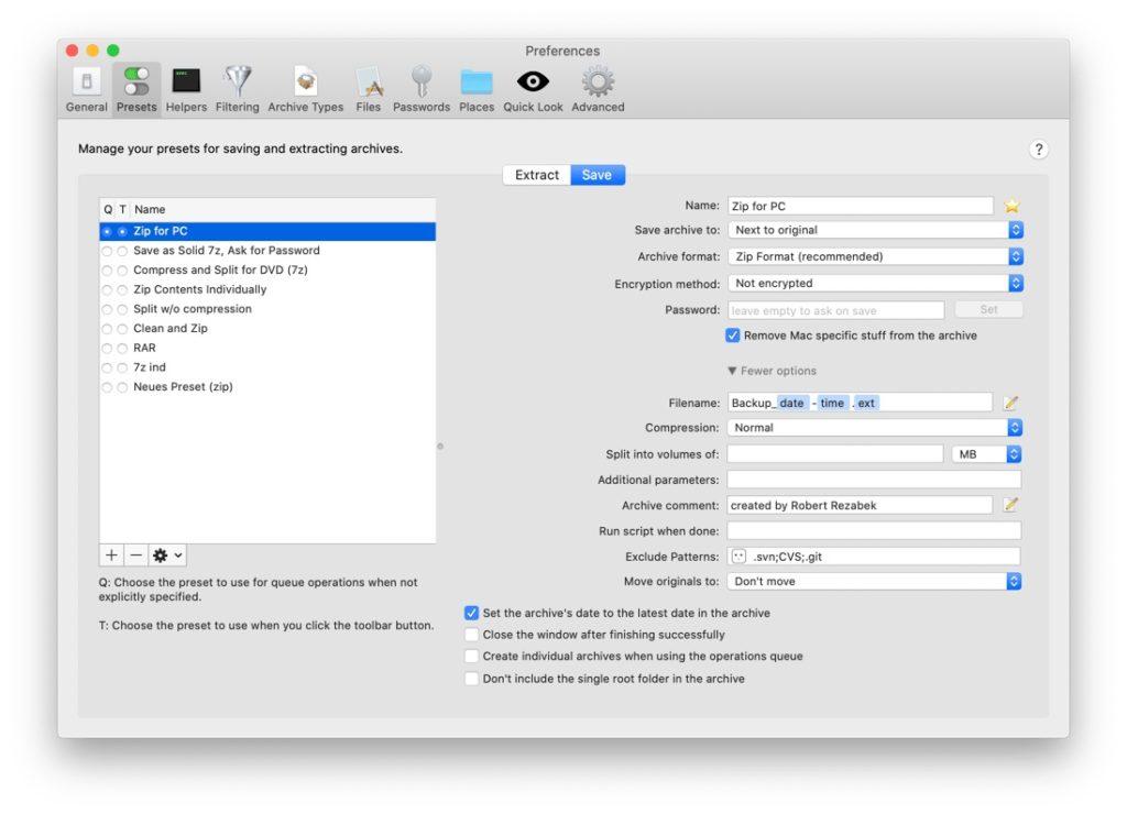 Ver contenido ZIP macOS 2