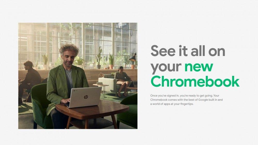 Configurar una Chromebook es rápido y fácil