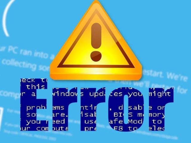 """Cómo solucionar error """"El archivo o directorio está dañado o ilegible"""""""