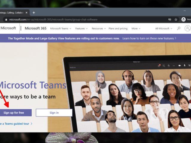 Cómo instalar Microsoft Teams en Windows 10