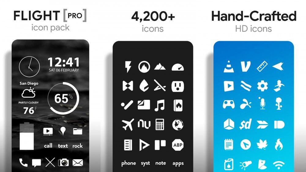 Paquete de iconos para personalizar tu dispositivo Android