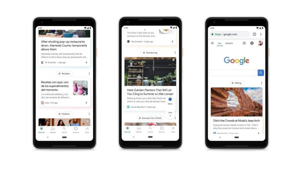 personalizar Google Discover 2